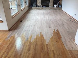 Jacobean Stain Red Oak (Before and After) | August Hardwoods