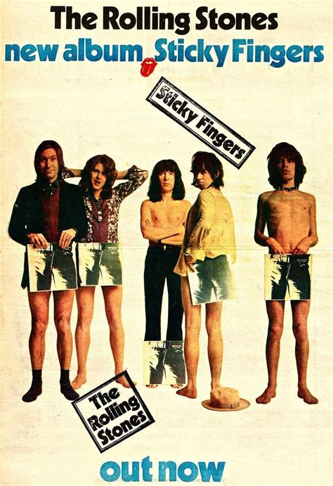 The Rolling Stones - Sticky Fingers, 1971
