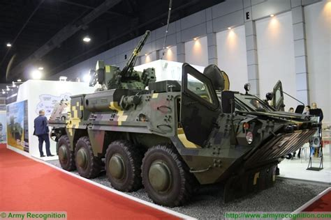 BTR-4E 8x8 armoured vehicle APC personnel carrier data
