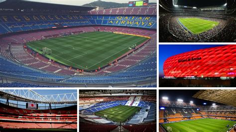 Uefa | The 20 most expensive stadiums in European club