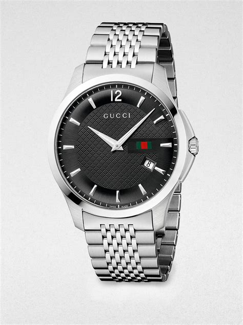 Lyst - Gucci G Timeless Stainless Steel Watch in Gray for Men