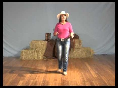 Learn how to line dance - The Electric Slide line dance