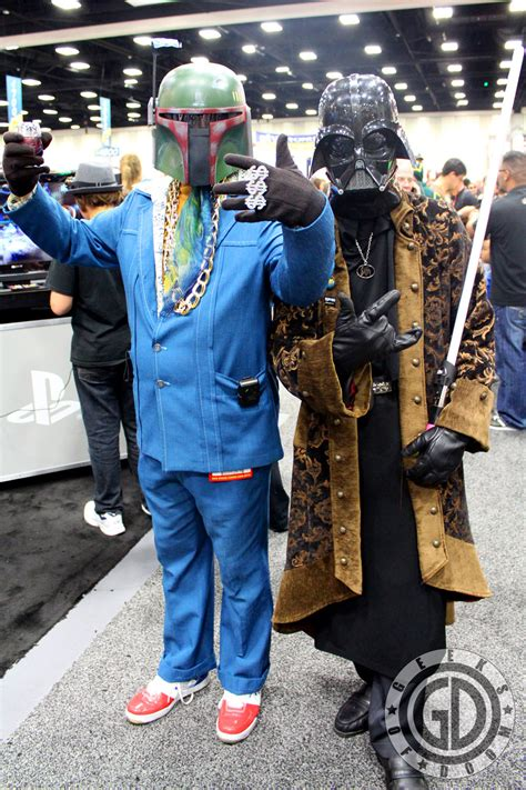 SDCC 2012: Cosplay Round-Up: Pirate Pimp Vader and Boba Phat