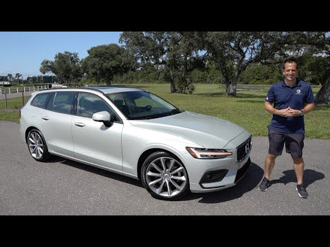 Volvo V60 Cross Country 2019 dimensions, boot space and
