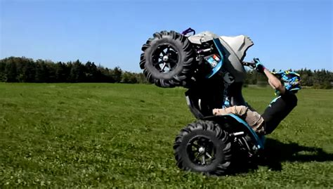 This Kid Can Wheelie For Days + Video - ATV