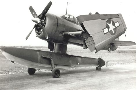 Curtiss SC-1 Seahawk with wings folded | Us military