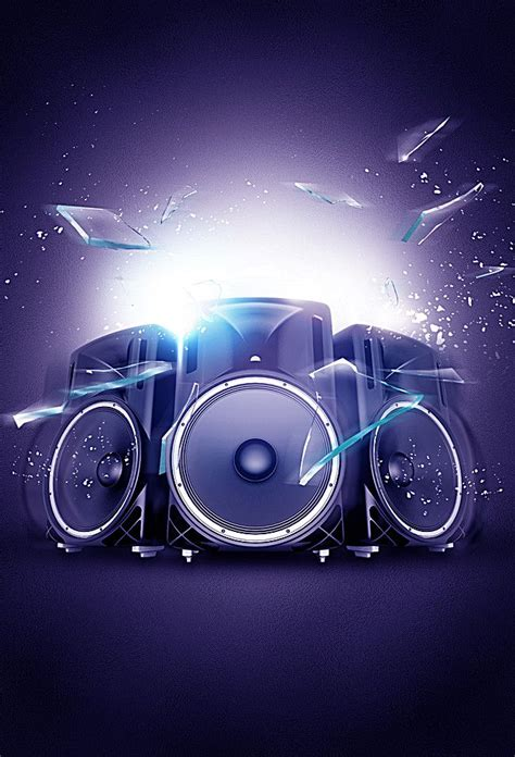 Creative Music Posters in 2020   Music backgrounds, Dj