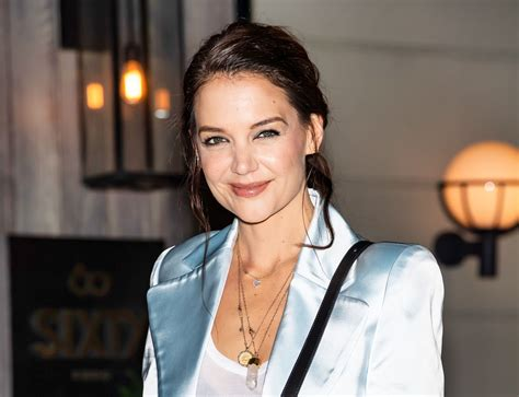What Katie Holmes Finds 'Upsetting' About Being in her 40s