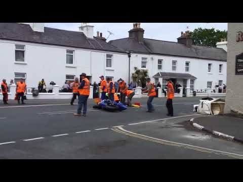 FATAL ACCIDENT Died in a CRASH at BALLAUGH on the TT ISLE