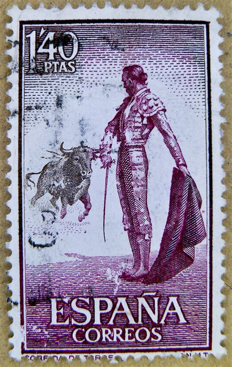 spanish stamps Spain 1
