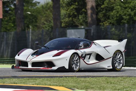 Ferrari Drivers Test The FXX K One Last Time Before