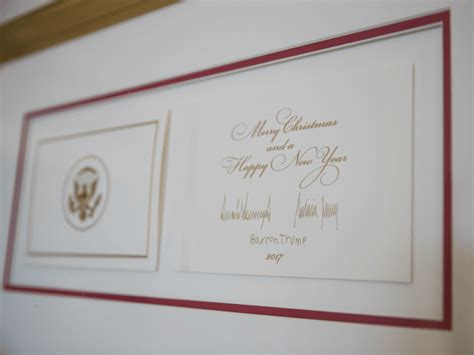 Trump Family Christmas Card Wishes Families 'Merry