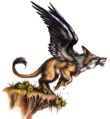 Chamrosh – These would have been my small-griffon type
