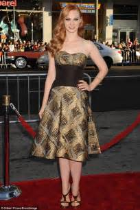Anna Paquin wears a black dress at True Blood premier with