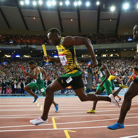 Usain Bolt, Jamaica Place 1st in Commonwealth Games Men's
