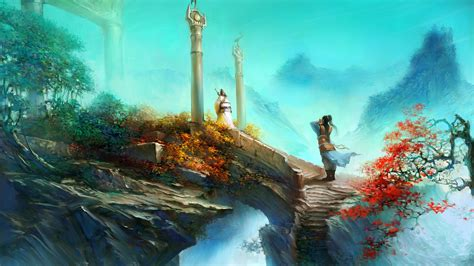 Mountain Temple Jade Dynasty Wallpapers | HD Wallpapers