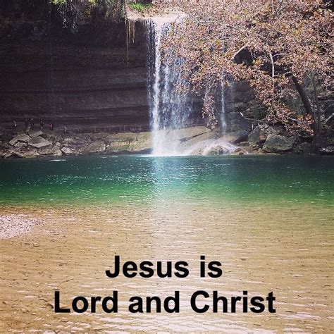 In His Ascension Jesus was Made the Lord and Christ - We