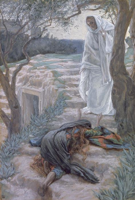 Noli Me Tangere Painting by Tissot