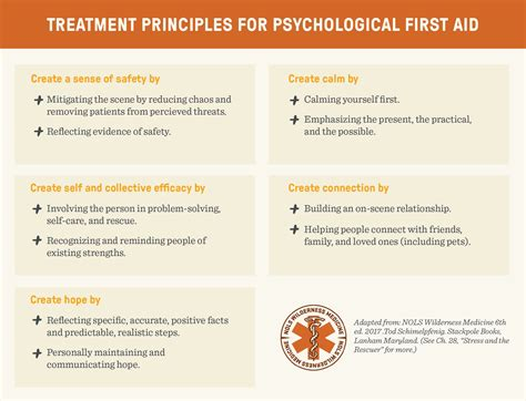 The 5 Components of Psychological First Aid