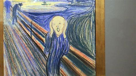 The Scream: I found the stolen painting - BBC News