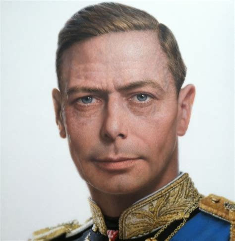 Rossin's portrait of King George VI is a hit with The