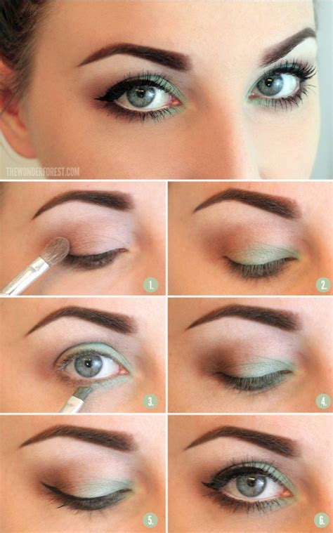 15 Spring Makeup Ideas for Green Eyes - Pretty Designs