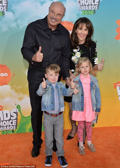Kids' Choice Awards attended by Dr Phil, his wife Robin