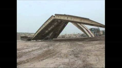 M60A1 Armored Vehicle Launched Bridge (AVLB) - YouTube