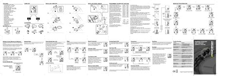 Cyclecomputer and GPS owner's manual database