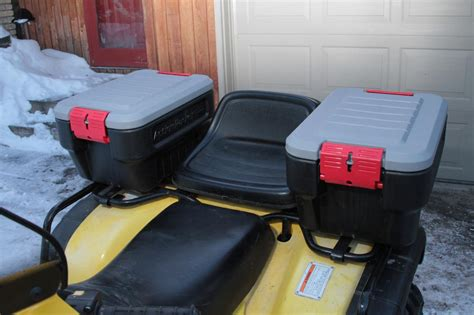 home made 2 up seat and storage - Honda Foreman Forums