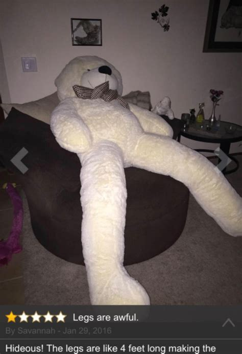 People Are Creeped Out By This Giant Teddy Bear That's All