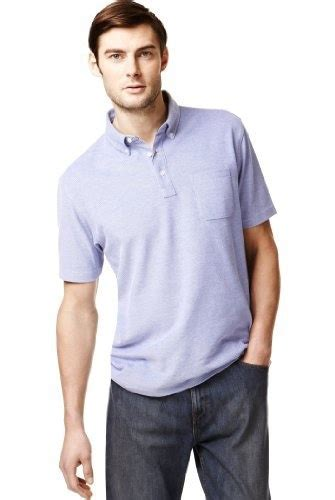 Button-Down Collar Polo Shirt Product Code: T283120M _BLUE