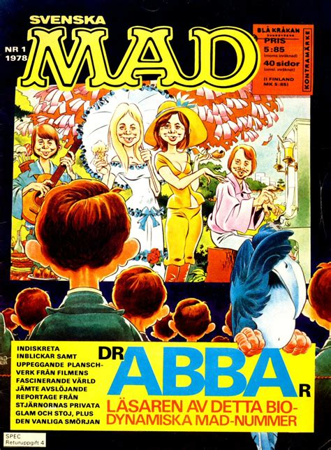 ABBA Fans Blog: Abba Cartoons In Mad Magazine