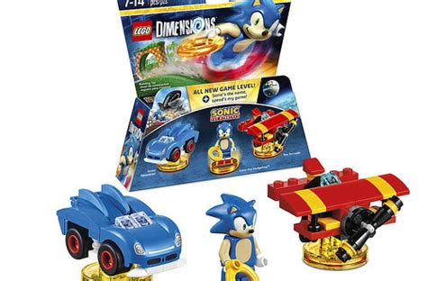 Here's a closer look at Sonic's level pack in LEGO