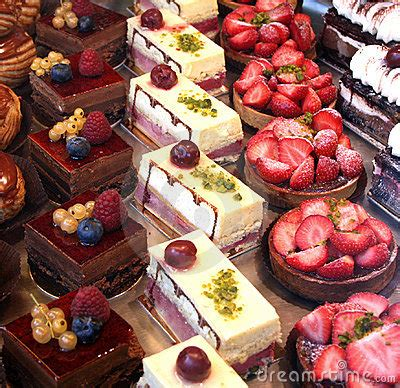 Colorful Pastry Display Royalty Free Stock Image - Image