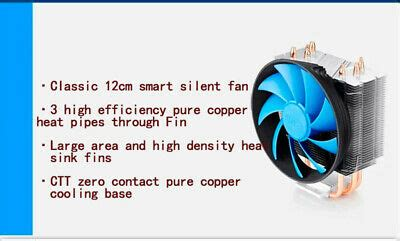 Portable Digital 2 core DC Chassis silent Host Fan Cooling