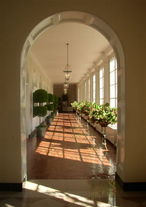 East Colonnade - White House Museum