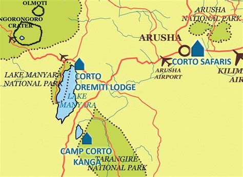 Visit the Great Tanzanian National Park with Corto   8