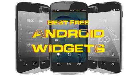 20 Best Android Widgets - Free to Download on Tablets & Phones