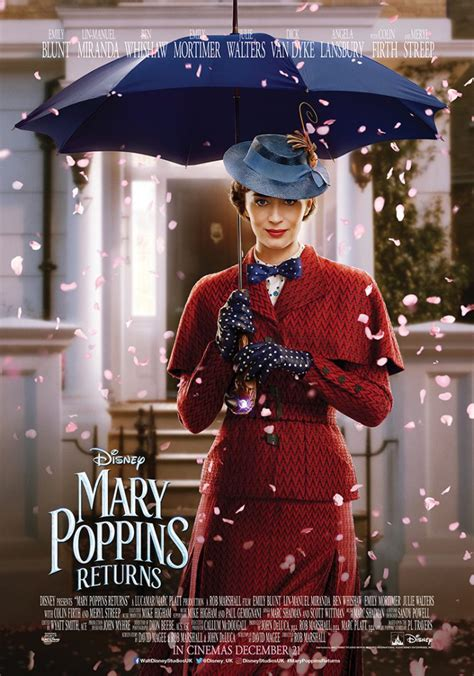 Three New Character Posters For 'Mary Poppins Returns'